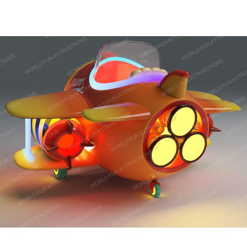 World Fun Attractions-Pirate Plane   Indoor Kiddie Rides   Kiddie Rides
