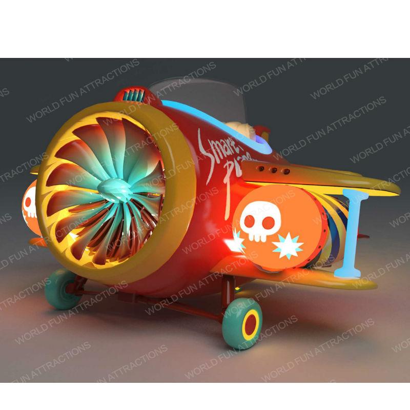 World Fun Attractions-Pirate Plane   Indoor Kiddie Rides   Kiddie Rides-2