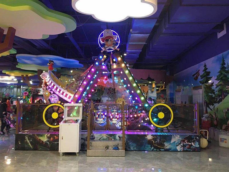 Pirate Ship Halloween Carnival Rides