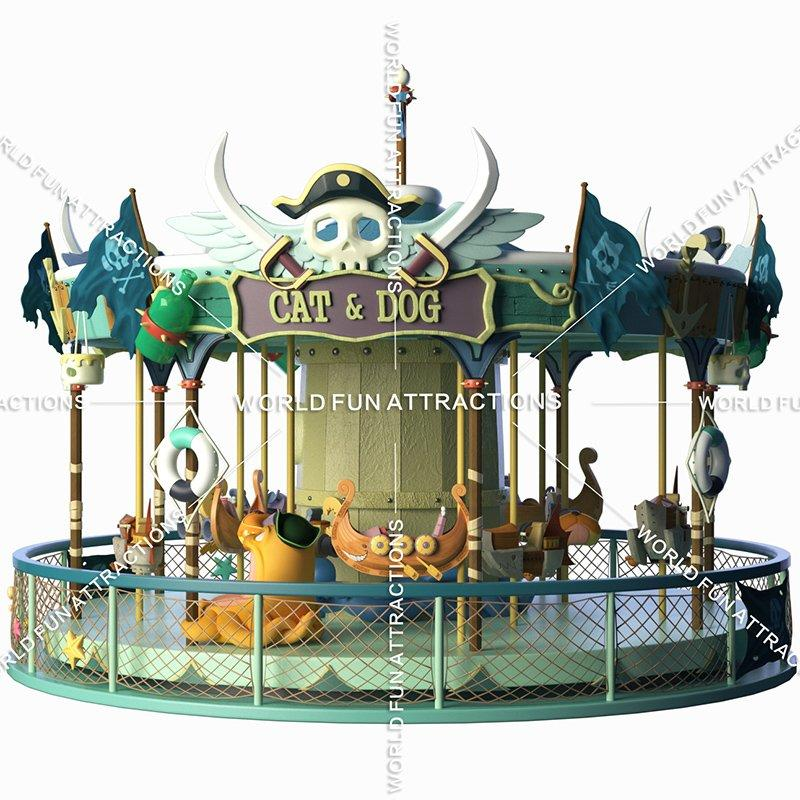 Carousel CaribbeanIsland--Pirate Eddy