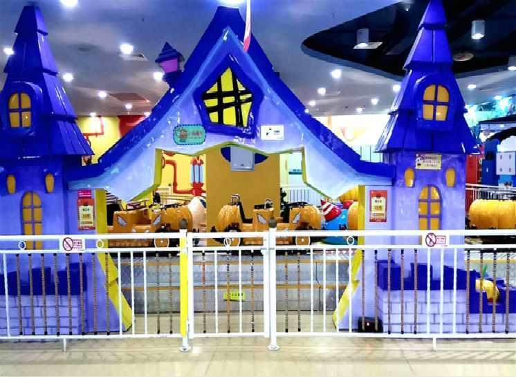 Roller Coaster High Orbit Halloween Pumpkin Theme Park Rides