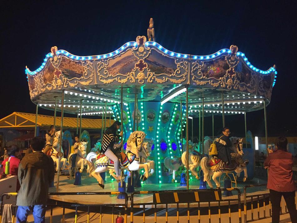 Carousel 24P Ocean Style Funfair Rides