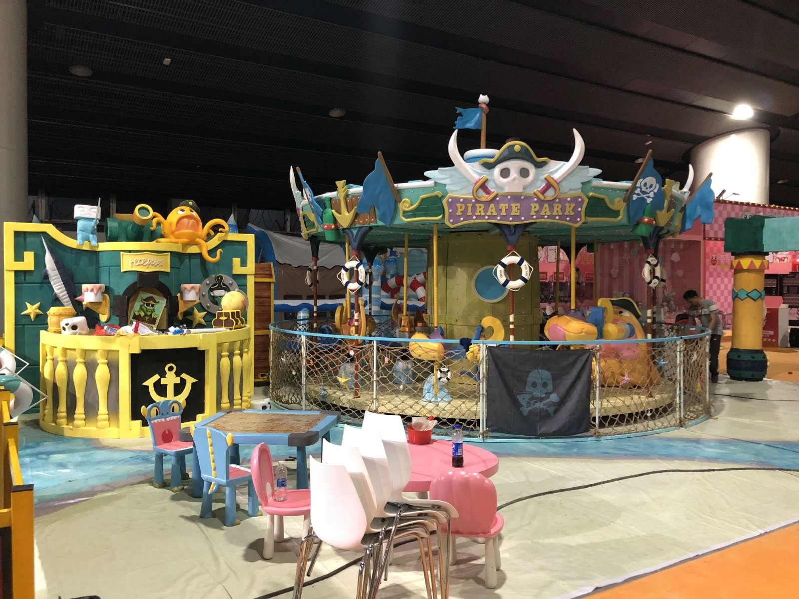 World Fun Attractions-High Quality Caribbeanisland-pirate Eddy Carousel | Carousel-4